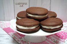 Gluténmentes whoopie pie   Gluténmentes élet Woopie Pies, Pancakes, Diet, Cookies, Baking, Breakfast, Desserts, Cukor, Food