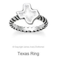 James Avery Texas Ring... LOVE LOVE LOVE! Sz 6-6.5