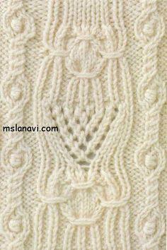Intricate stitch