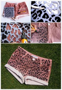 DIY Clothes Refashion : DIY shorts