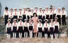 Romanian Culture School uniforms in Romania Socialist State, Socialism, Romanian People, Old Time Christmas, Warsaw Pact, Central And Eastern Europe, Cultural Identity, Girl Guides, Recital