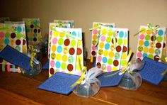 Gift for guests at Blessingway