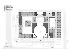 School Floor Plan, Balance Art, Peaceful Places, Urban Planning, Hotels And Resorts, Floor Plans, Flooring, Inspiration, How To Plan