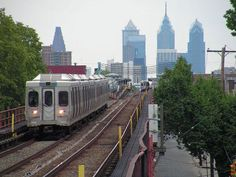 The Frankford El.  Took this to work, in the city.