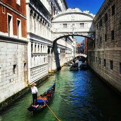 Venetia Italy Most westchnień