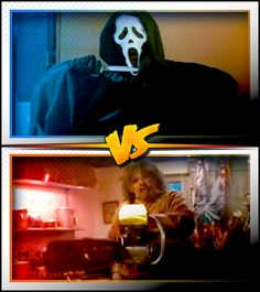 GHOSTFACE versus LEATHERFACE ■ http://terror.ca/movies/franchise/rank?f=262&f2=264
