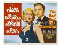 The Bad and the Beautiful, 1953 Movies Art Print - 61 x 46 cm