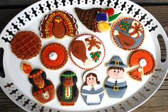 Thanksgiving in cookies.