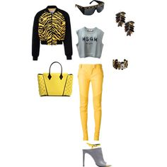 Untitled #54 by atlienfashioned on Polyvore featuring polyvore, fashion, style, MSGM, Moschino Cheap & Chic, Balmain, Balenciaga, Louis Vuitton, Ashley Pittman, La Perla and Chanel