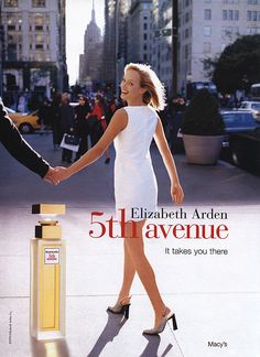 Elizabeth Arden 5th Avenue - Amber Valetta