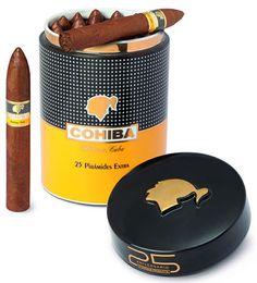 Cohiba Piramides Extra - Porzellan-Jar Cigars And Whiskey, Pipes And Cigars, Cuban Cigars, Havana Beach, Cohiba Cigars, Whiskey Room, Cigar Art, Cigar Club, Cigar Cases