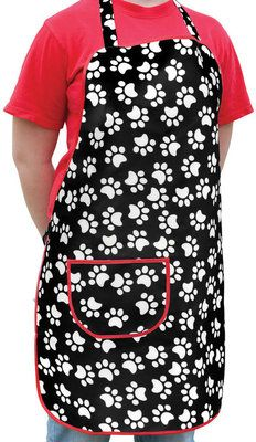 """Check out """"Jeffers Groomers Apron w/ Paw Prints"""" from Jeffers Pet"""