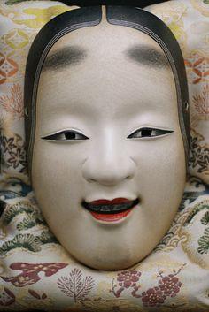 Noh Mask Japanese KO Omote Hannya Okina Nogaku New | eBay