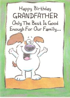 25 Best Birthday Cards For Grandfather Images