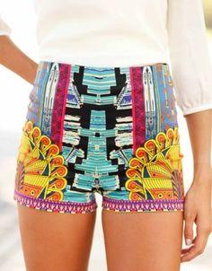 Hawaii Not High Waisted Shorts