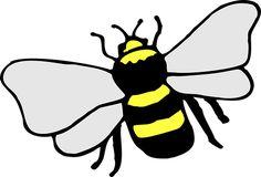 Μέλισσα, Έντομο, Ρίγες, Κίτρινο