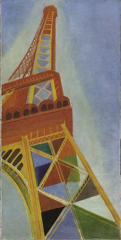 Robert Delaunay (1885 - 1941)  La Tour Eiffel [1926]