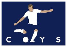 Come On You Spurs! https://www.etsy.com/uk/listing/251041106/tottenham-hotspur-harry-kane-coys-poster
