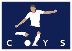 Come On You Spurs! https://www.etsy.com/uk/listing/251041106/tottenham-hotspur-harry-kane-coys-poster