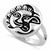 Top of ring height: Top of ring width: Band width: Shank width: Metal: 925 sterling silver Plating: rhodium plated Finish: high polish Sun And Moon Rings, Silver Rings Online, Dreamland Jewelry, Wholesale Jewelry, Silver Charms, Beautiful Rings, Sterling Silver Jewelry, Rings For Men, Shank