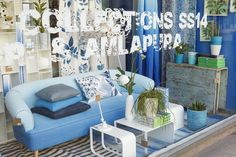 Designers Guild London Flagship Store 267 Kings Road, SS14 Store Window