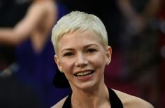 More Pics of Michelle Williams Pixie Edgy Pixie Haircuts, Pixie Hairstyles, Short Haircuts, Pixie Styles, Short Hair Styles, Michelle Williams Pixie, Super Short Pixie, Short Cuts, Oscars