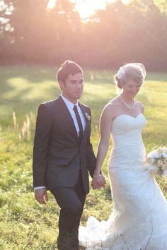 Photography: Jessica Bennett   #allure #wedding #weddings #realwedding #realbride #allurebridals #bride #bridal #bridalgown #weddingdress #lace #vintage #brandisbridal #2014bride #2014wedding #weddingideas #vintagewedding