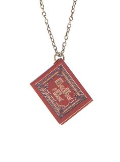 Once Upon A Time Henry's Book Necklace,