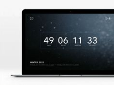 Daily UI Day 14 Countdown Timer