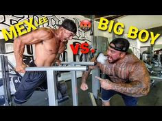 BODY WEIGHT DIP BAR CHALLENGE - MEX LEE CALLS OUT BIG BOY (WHO WINS?) - YouTube Boys Who, Big Boys, Dip Bar, Body Weight, Strength, Challenges, Youtube, Youtubers