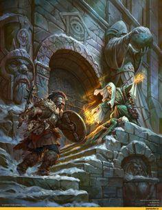 Dmitry Burmak,Fantasy,Fantasy art,art,арт,красивые картинки,Frostgrave Folio,Маги(Fantasy)