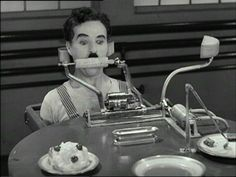 Modern Time - Chaplin easily shows how much he was ahead of his own time. One of the greatest comedy movies made ever.