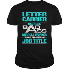 LETTER CARRIER T-Shirts, Hoodies. ADD TO CART ==► https://www.sunfrog.com/LifeStyle/LETTER-CARRIER-116067477-Black-Guys.html?id=41382