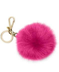 Michael Kors Fur Pom Key Chain New Handbags 00b8c8c50