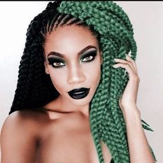 30 - Stunning Rainbow Hair Color Styles Trending Now - 1 A simple way to model your hair with a rainbow is to have a basic color that you animate with. Unique Hairstyles, Protective Hairstyles, Summer Hairstyles, Gorgeous Hairstyles, Black Hairstyles, Hairstyle Ideas, Crochet Hair Styles, Crochet Braids, Dreads