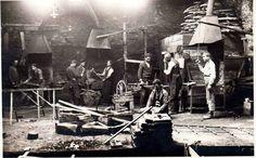 Yozgat, 1910'lar Ermenilere ait Demir Döküm atölyesiinde çalışanlar