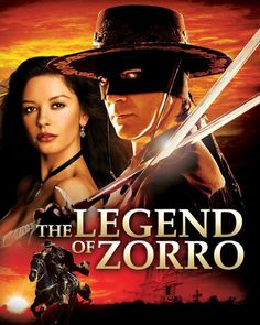 'The Legend of Zorro' (2005), Antonio Banderas & Catherine Zeta Jones