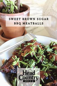 Brown Sugar BBQ Meatballs | Best BBQ Meatball Recipes | How To Make Meatballs How To Make Meatballs, Bbq Meatballs, Best Bbq Recipes, Easy Dinner Recipes, Head Country Bbq Sauce Recipe, Healthy Snacks To Make, Recipe For Mom, Meatball Recipes, Appetizers For Party