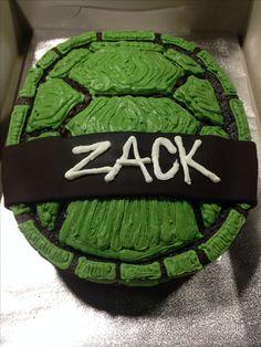Ninja Turtle Birthday Cake More