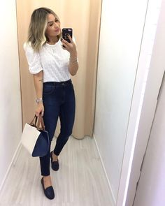 Smart Casual Work Outfit, Casual Chic, Stylish Outfits, Cute Outfits, Looks Chic, Casual Looks, Look Office, Business Outfits, Work Fashion