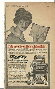 Jan 1917 Maytag Co Newton Iowa Washer with Gasoline Engine Ad | eBay