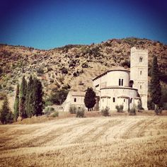 Sant'Antimo Val D'Orcia Italy