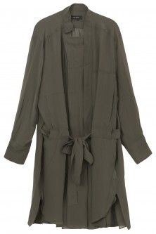 carla georgette shirt dress by ISABEL MARANT