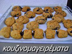 Ελιοπιτάκια νηστίσιμα, πάρα πολύ νόστιμα!! Cookies, Desserts, Food, Crack Crackers, Tailgate Desserts, Biscuits, Dessert, Cookie Recipes, Postres