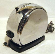 Vintage 1930s Art Deco Merit Model Z Toaster | eBay