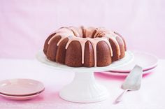 Cook for the Cure with Buttermilk Strawberry Bundt Cake Recipe