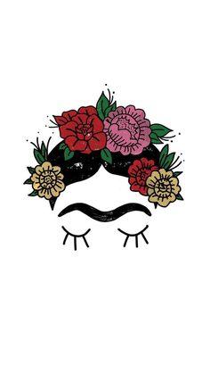 #обоинаайфон #обоинателефон #обоидлятелефона #фридакало #fridakahlo Iphone Background Wallpaper, Mexican Folk Art, Mark Making, Aesthetic Wallpapers, Apple Watch, Decoupage, Mexico, Images, Draw