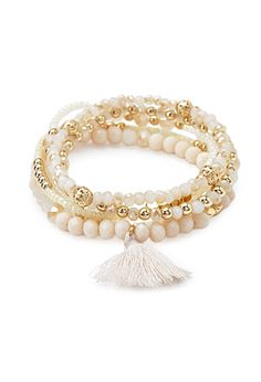 Beaded Bracelet Set   Forever 21 - 1000173216