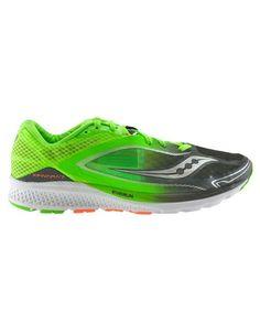 online store 6b90f 70a7e Saucony kinvara 7 verde negro s20298-1. Zapatillas ...