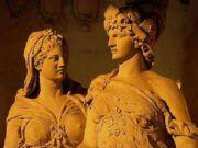 Τι Κρύβεται Πίσω από τα Δίδυμα Αδέλφια Απόλλων και Άρτεμις Statue, Sculptures, Sculpture